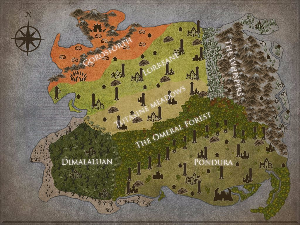 Creating a fantasy world the time gene each one had a specific place and design in mind once i had the lands figured out i decided i best create a map so here is the map gumiabroncs Images